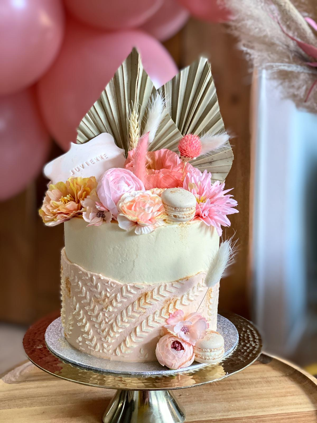 boho cake botercreme