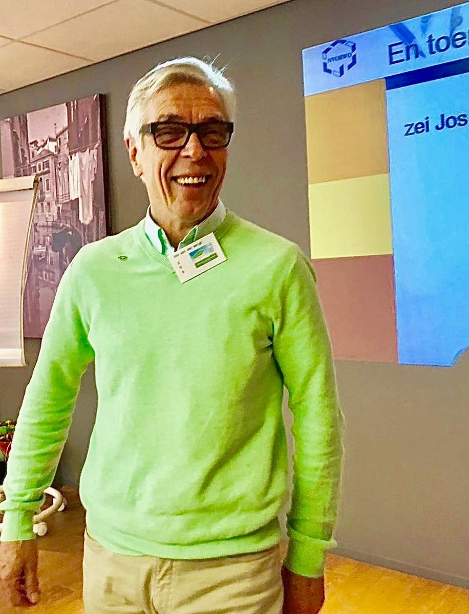Ei van Columbus maker Jos van den Bergh benoemd tot erelid van de NVORWO