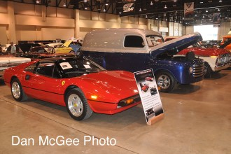 At the Auto Auction there is everything from exotic to classic being sold.