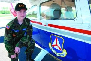 cadet civil air patrol