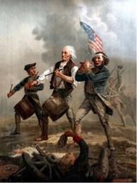 "Painting: ""The Spirit of '76"" (aka Yankee Doodle Dandy) By Archibald MacNeal Willard, c1875"