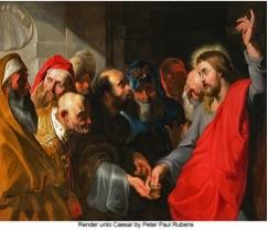 Render unto Caesar by Peter Paul Rubens