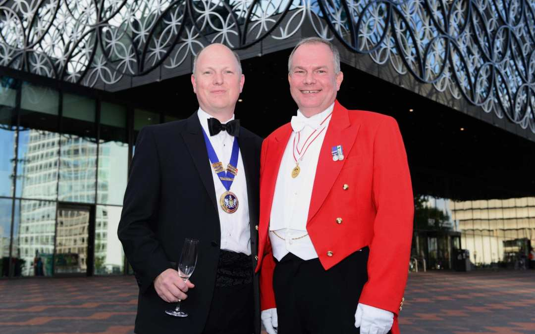 Toastmaster for the CISI Dinner in Birmingham