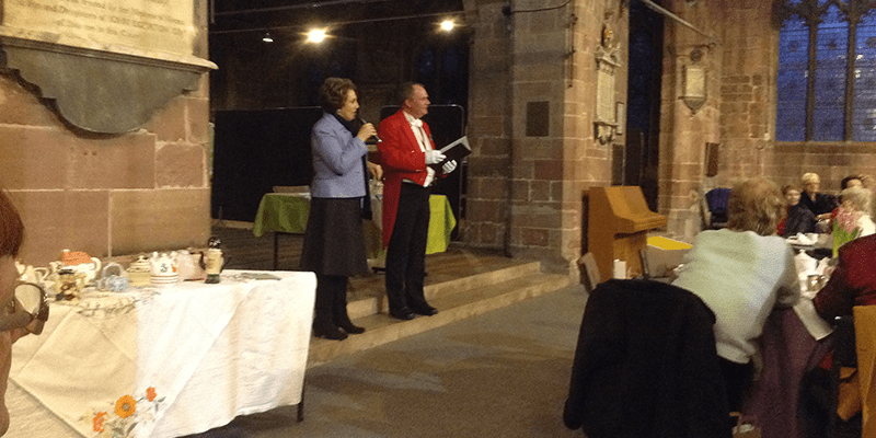 Charity Toastmaster for the Chester & District Samaritans