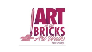 Downtown Rogers Art on the Bricks Logo