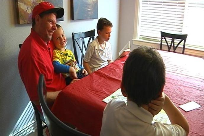 stay-at-home dads Brian Lang Lang family dad_552200978419764992
