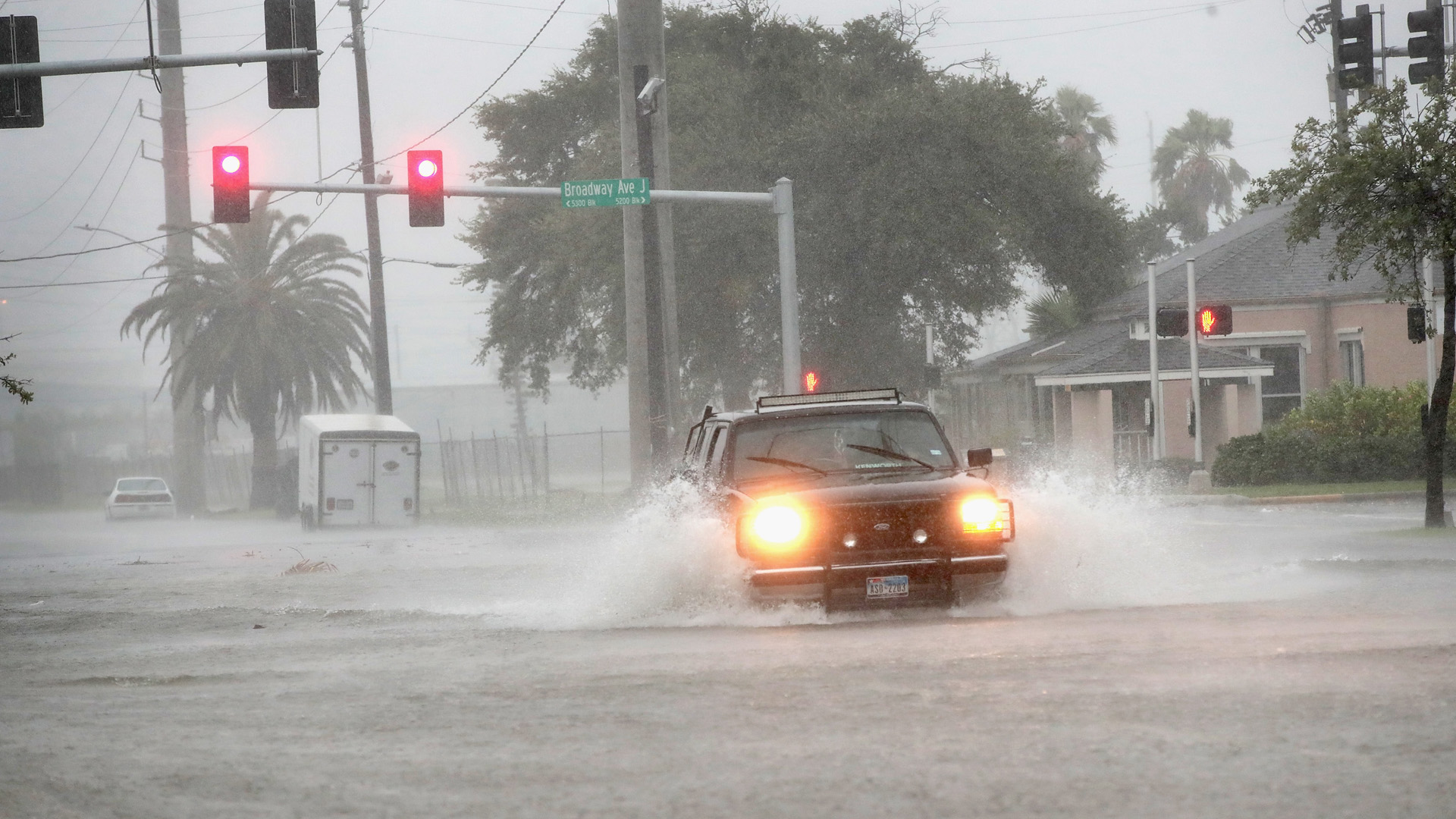Flooding, Galveston, Texas, Hurricane Harvey19727576-159532