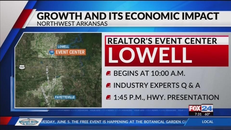 Realtors Across NWA to Discuss Economic Growth