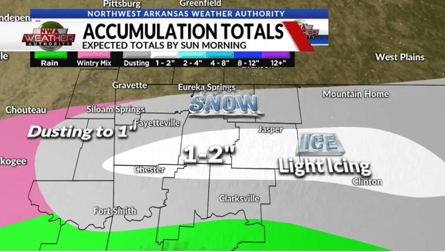 Northwest Arkansas Snow Accumulation Projection.jpg
