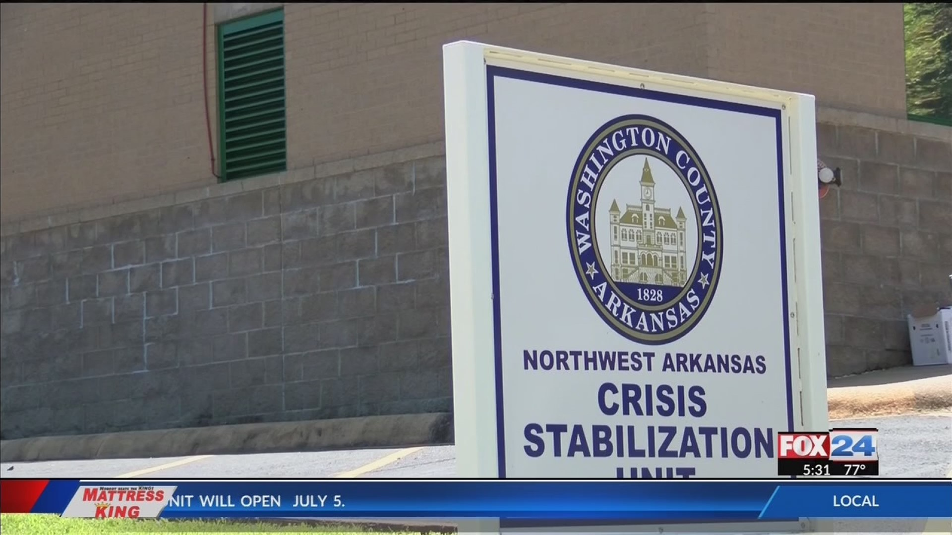 Crisis stabilization unit opens in Fayetteville