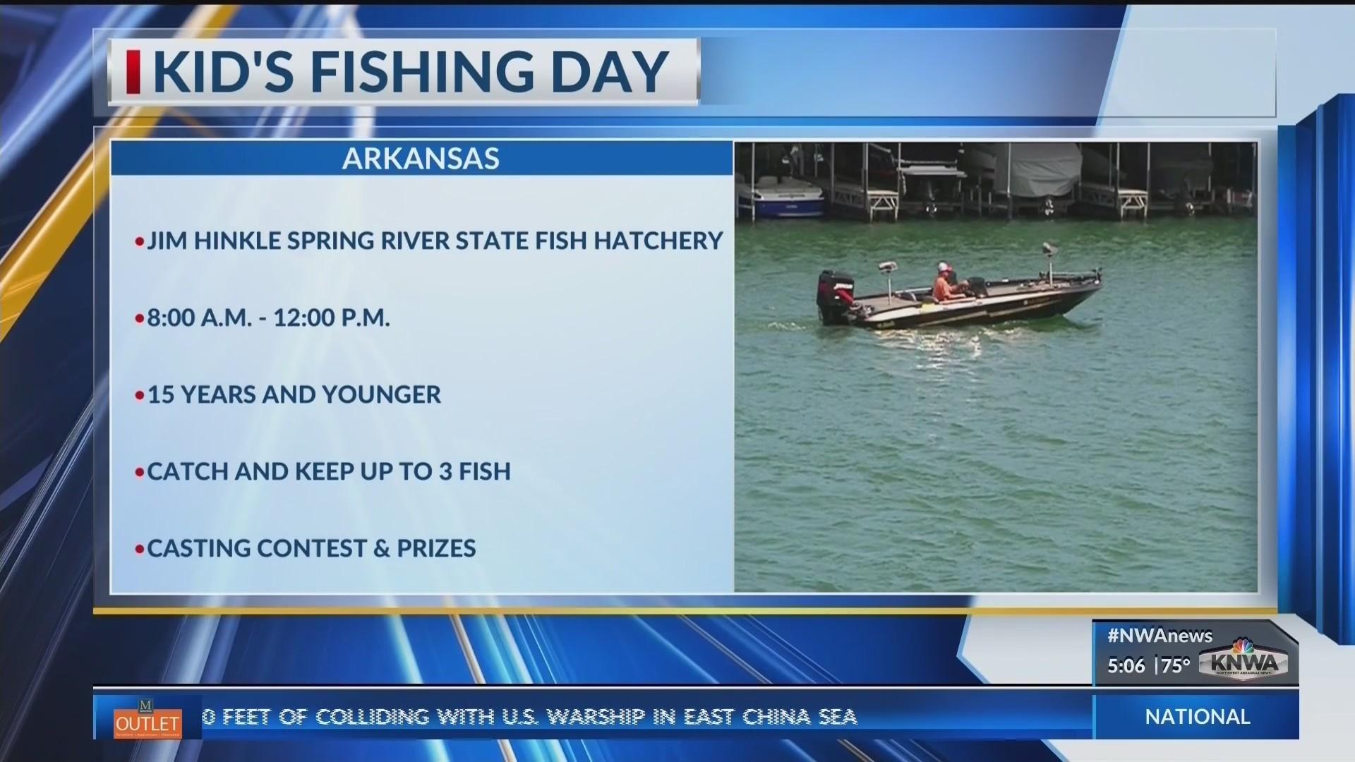 Kids Fishing Day (KNWA)