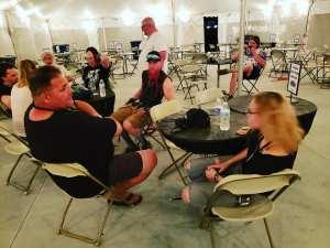 Rocklaoma Media Tent