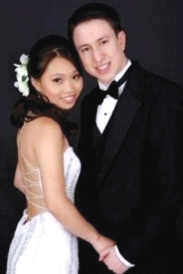 Yale grad student Annie Le with Jonathan Widawsky. They were scheduled to marry last Sunday.
