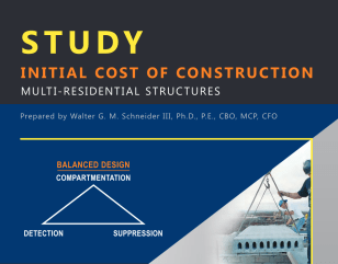 Initial Cost of Construction Study Cover Image
