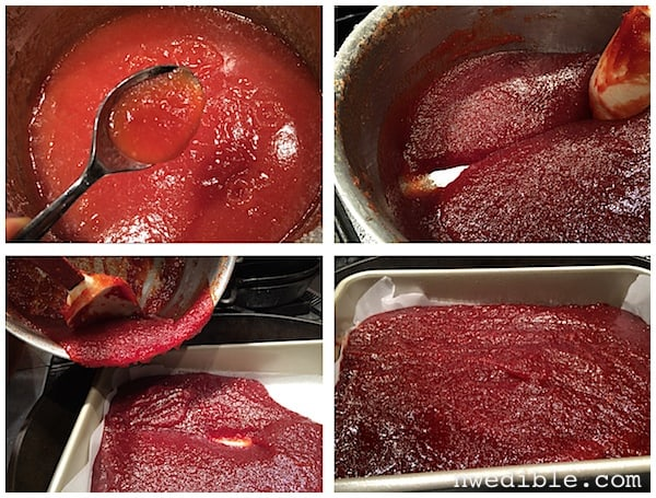 Quince Paste (Membrillo)