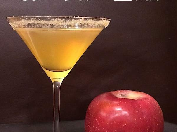The Apple of My Eye Cocktail