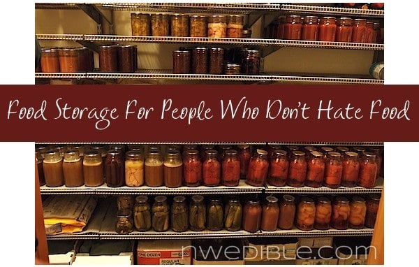 Food Storage For People Who Don't Hate Food