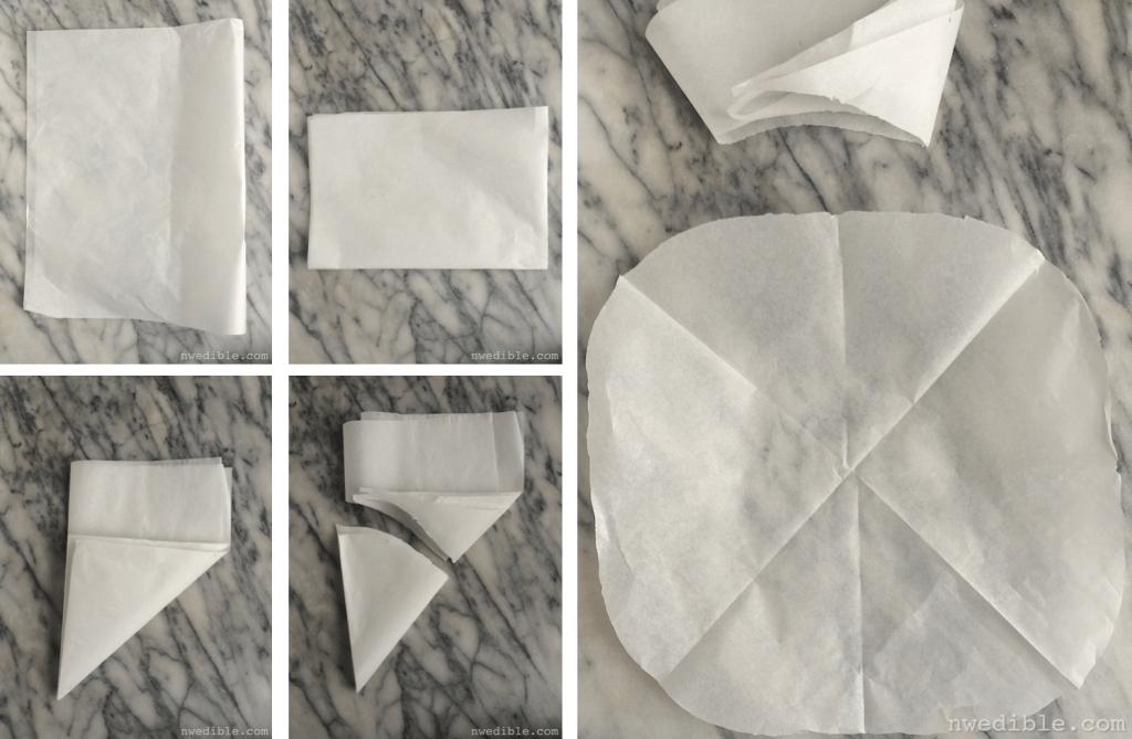 Parchment Drop Lid