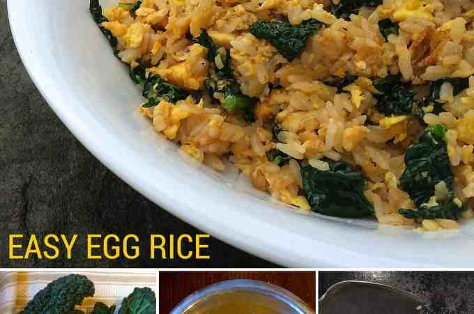 Egg Rice: Good, Fast, Cheap Food
