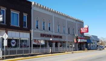 downtown commercial building Hebron IN