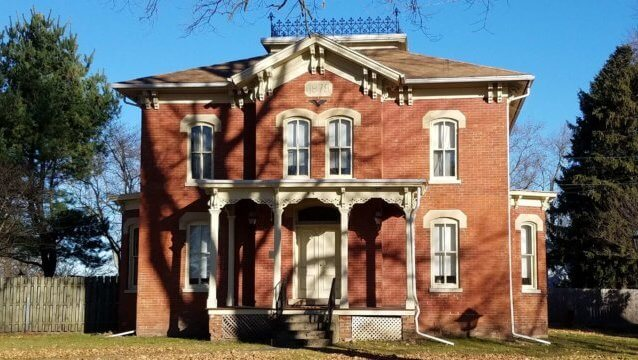 historic two story Westville IN
