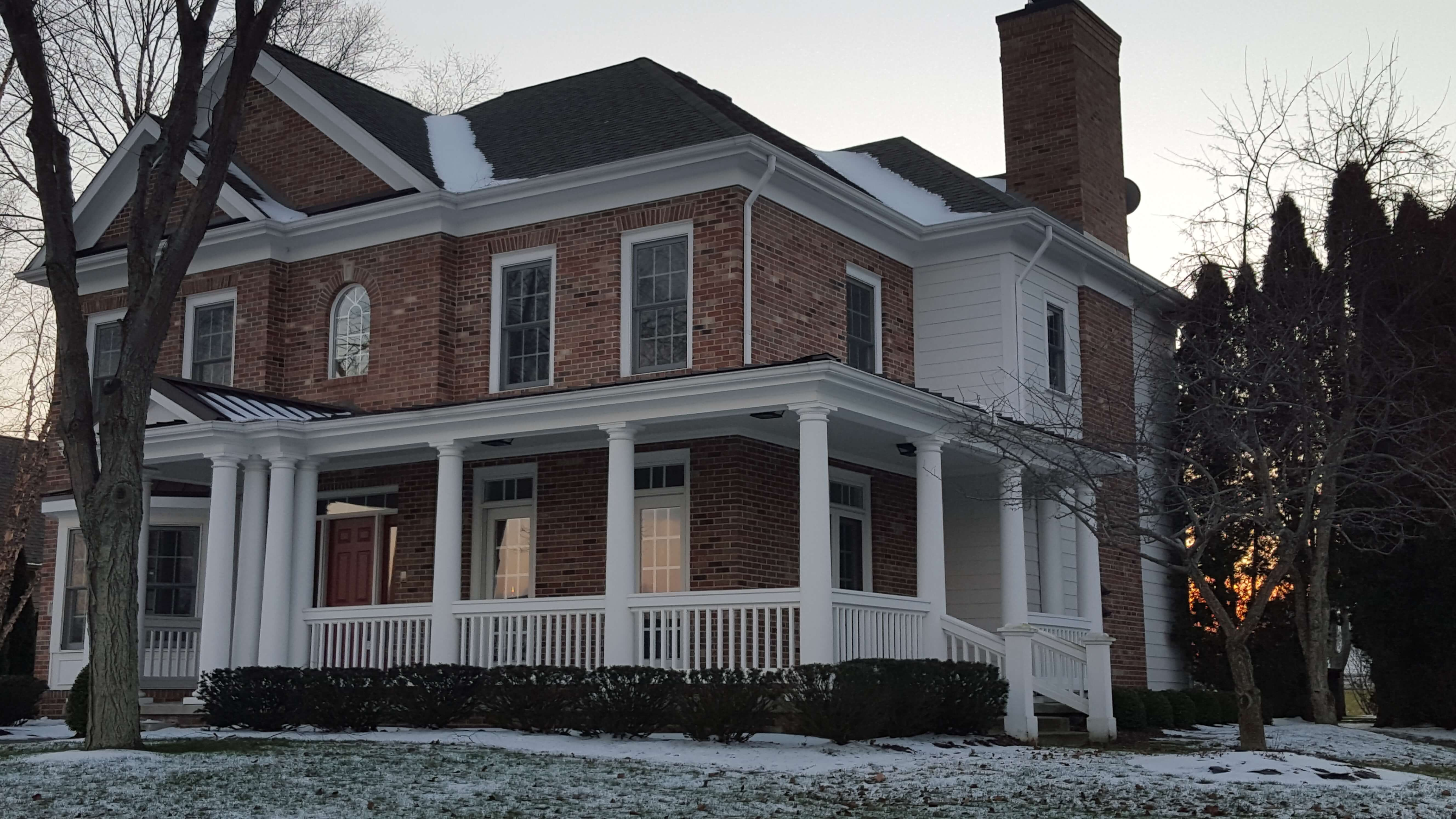 two story house Sand Creek Chesterton IN