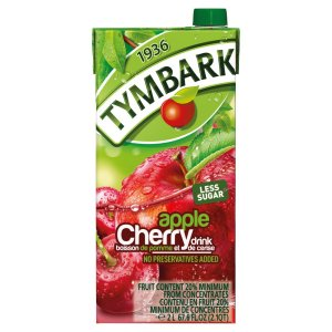 Tymbark Apple Cherry Drink No Preservatives Added 2Lt