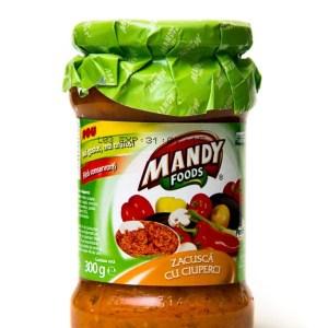 Mandy Eggplants Salad With Mushrooms 300g