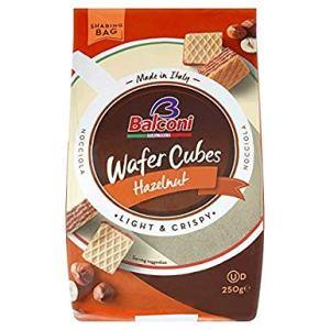 Balconi Wafer Cubes Hazelnut 250g