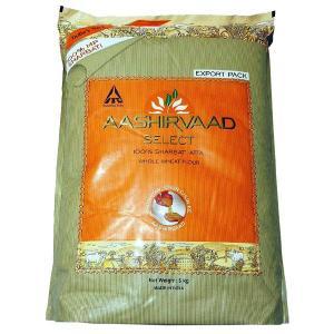Aashirvaad Select 100% Sharbati Atta Whole Wheat Flour 5kg