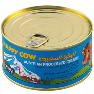 Happy Cow Austrian Processed Cheese 340g
