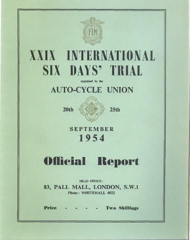 ISDT 1954 - Wales (2/6)