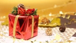 クリスマスのプレゼントボックス