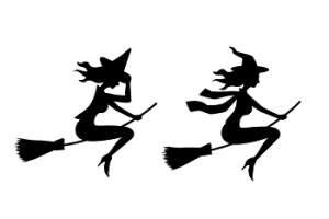 魔女のイラスト