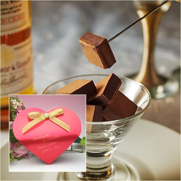 バレンタインに生チョコのプレゼント|お取り寄せや人気ブランド特集