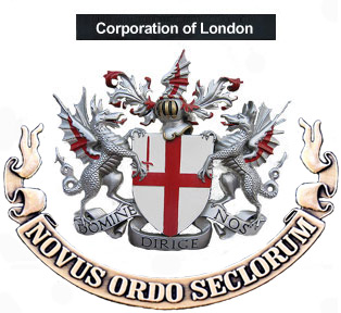 corporation of london white new