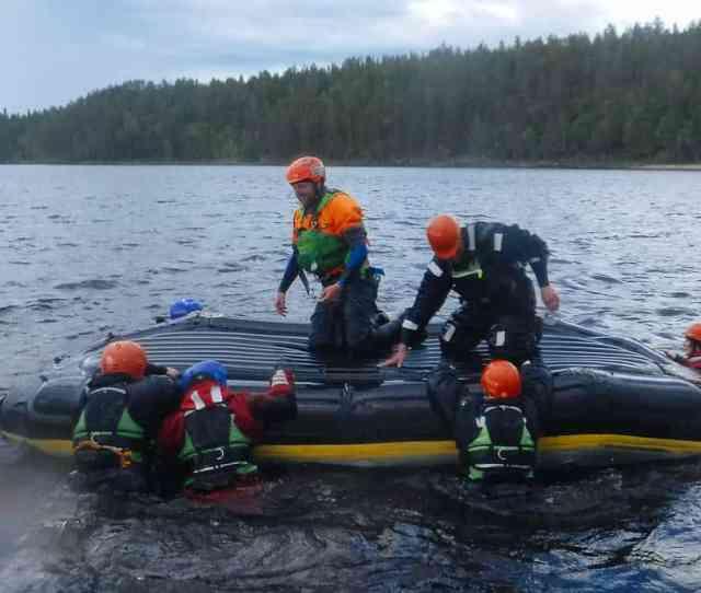 Raft Flip Practice