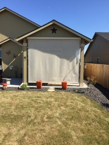Stucco Boxed Crank Style Shade