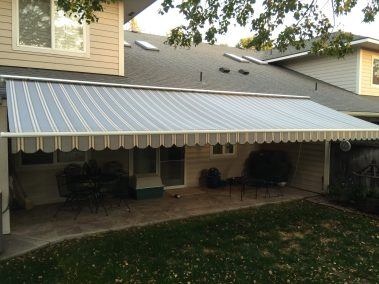 Roof Mounted Motorized Awning