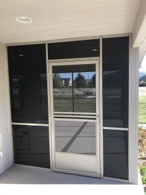 Suntex 90 Black Screen room and door