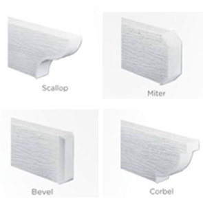 End Caps for Patio Covers