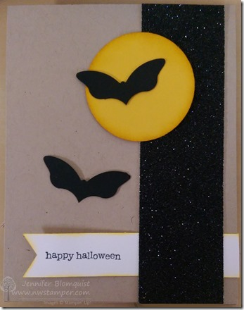 Halloween bats with butterfly punch