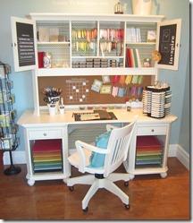 stampin up inspiration desk