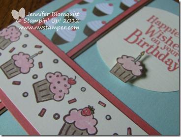 Cupcake Wheel Stamp close up