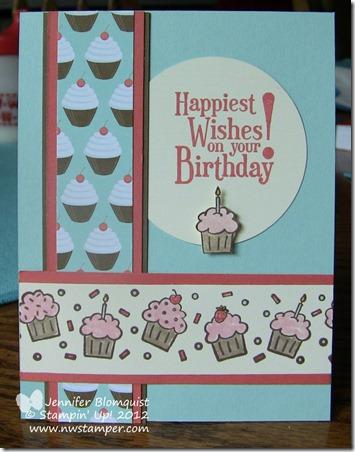 Cupcake Wheel Stamp