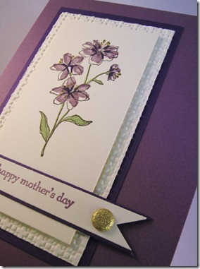 hostess mothers day card pennant