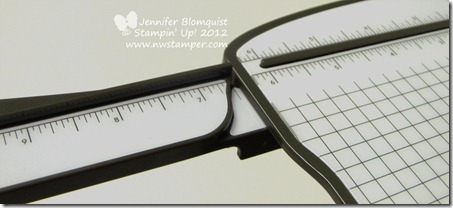 Stampin Trimmer extended arm