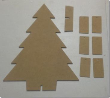 raw christmas countdown tree