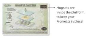 Magnetic platform for the Big Shot