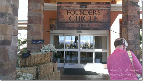 Founders Circle 2013 hotel entrance